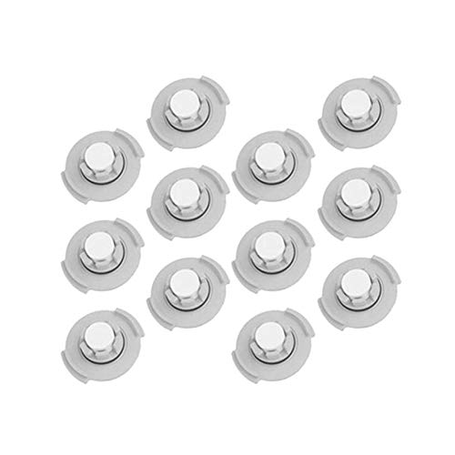 Accessoires d'aspirateur , 12Pcs Filtre de réservoir d'eau pour Xiaomi Roborock S50 S51 Robot Aspirateur Pièces Filtres Accessoires Balayeuses Accessoires (Couleur: Noir Blanc) (Color : Black White)