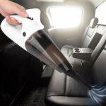 Mini aspirateur, petit aspirateur à main sans fil rechargeable par USB, anti-poussière et souffleur 2 en 1, bureau, clavier, tiroir, intérieur de voiture et autres crevasses faciles à nettoyer, petits
