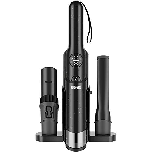 VOSFEEL J10 Aspirateur Voiture Aspirateur a Main sans Fil 15000pa 160W avec Filtre Lavable pour Maison Voiture (37 cm)