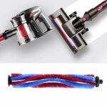 Accessoires de tête de brosse, dessus d'aspirateur en ABS de 19,8 cm/7,8 cm pour nettoyage en profondeur, dessus en forme de V pour aspirateur sans fil