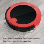 Okuyonic Aspirateur, Nettoyage Automatique Mode Trois en Un aspirateur Paresseux Double Nettoyage aspirateur Balai pour la Maison