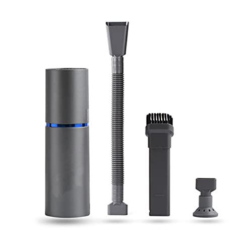 Splenssy Aspirateur sans fil léger et portable 2 en 1 Aspirateur à main Home Keyboard Vacuum