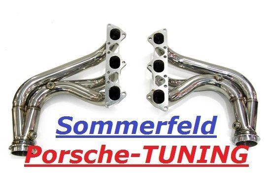 porsche 997 gt3 sport mk1 sport exhaust headers manifolds without catalyst