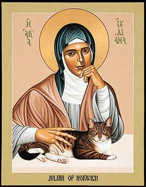Image result for icon julian of norwich