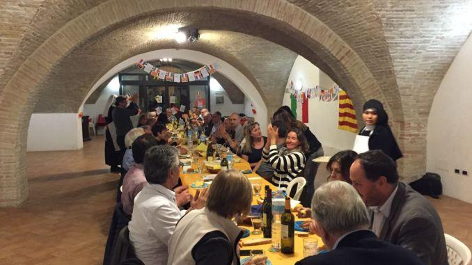 Cena al monastero