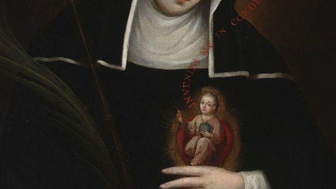 Santa Gertrude la Grande, monaca benedettina