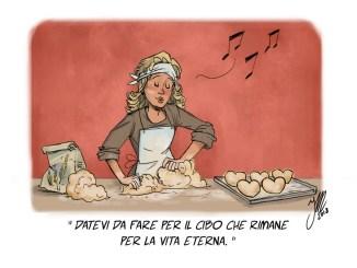 Il pane della vita non sazia le pance, apre i cuori
