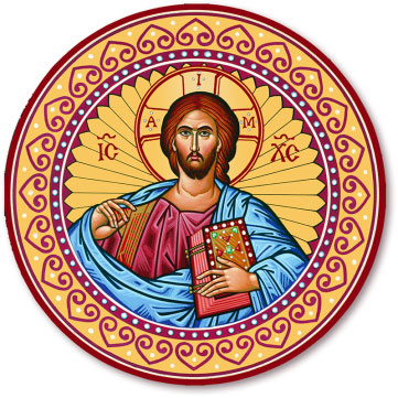 Icon Magnets Christ Round Magnet Monastery Icons