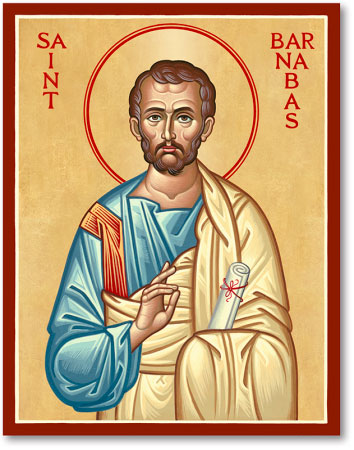 Men Saint Icons St Barnabas Icon Monastery Icons
