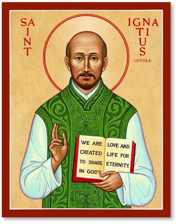 St Ignatius Loyola Icon