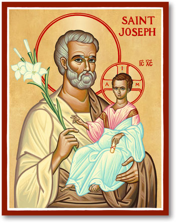 Men Saint Icons St Joseph Icon Monastery Icons