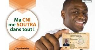 Achat du timbre en Côte pour la nouvelle carte nationale d'identité (CNI)
