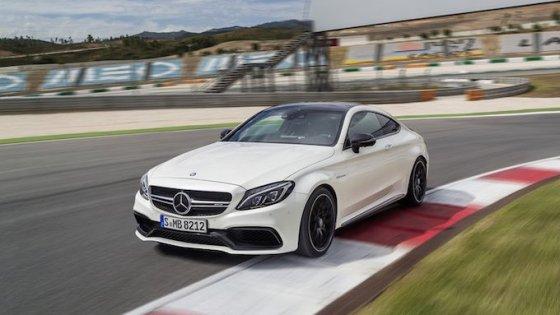 Mercedes C63 Coupé AMG officiel