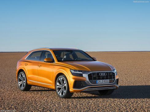 Audi Q8 2019 extérieur