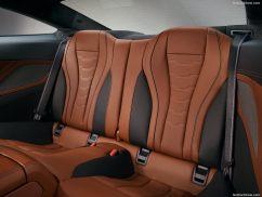 BMW Série 8 2019 places arrières