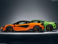 McLaren 600 LT orange verte