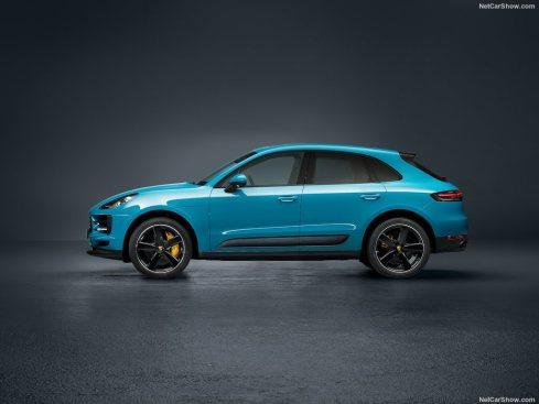 Porsche Macan 2019 profile
