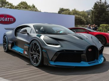 Bugatti Divo 2019 3/4 avant