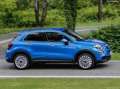 Fiat 500X 2019 de profile