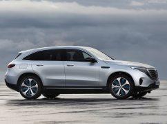 Mercedes EQC 2019 gris profile