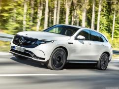 Mercedes EQC 2019 blanche