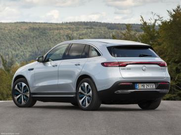 Mercedes EQC 2019 suv électric