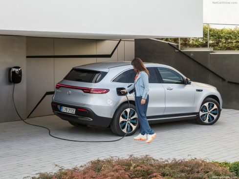 Mercedes EQC 2019 crossover electric