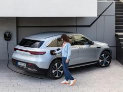 Mercedes EQC 2019 electric haut de gamme