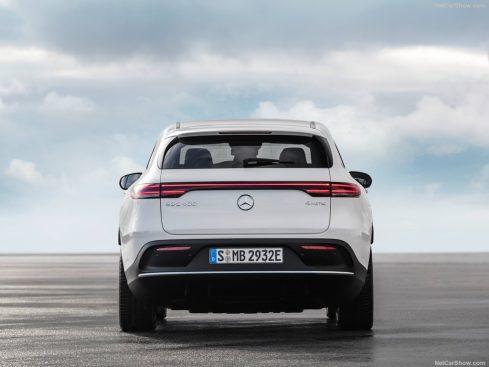 Mercedes EQC 2019 coffre