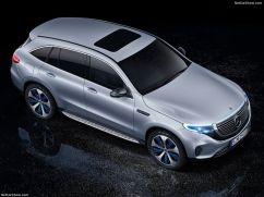 Mercedes EQC 2019 de haut