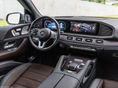 Mercedes GLE 2019 poste de conduite