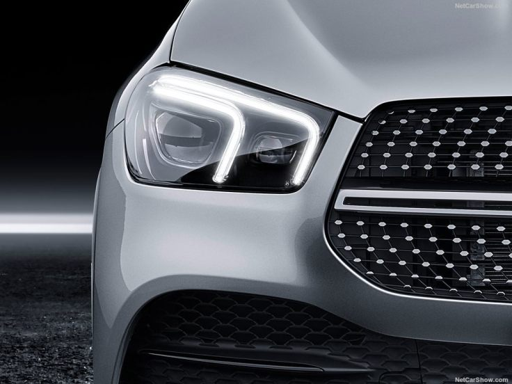 Mercedes GLE 2019 feux led avant