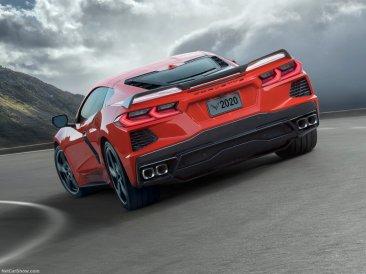 Chevrolet Corvette 2020 feux arrière