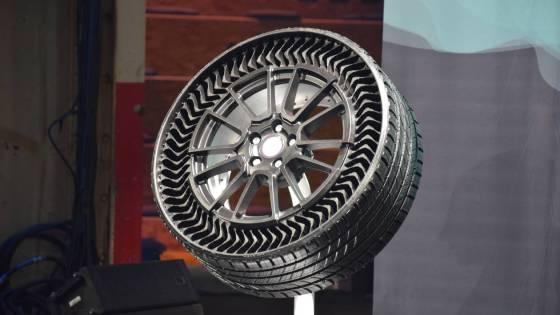 Michelin General Motors pneu increvable