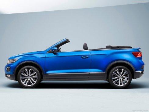Volkswagen T-Roc Cabriolet 2020 profile
