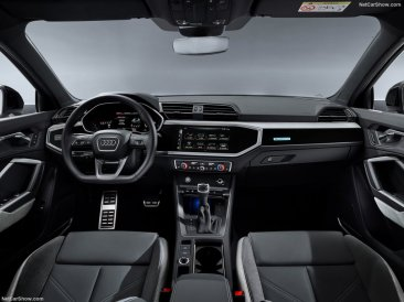 console centrale Audi Q3 Sportback 2020