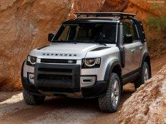 Galerie Land Rover Defender 2020 version 110 capot