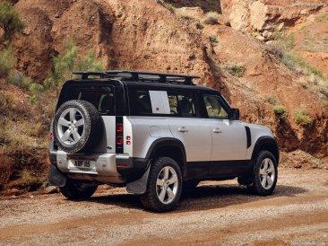 Galerie Land Rover Defender 2020 version 110 vue arrière