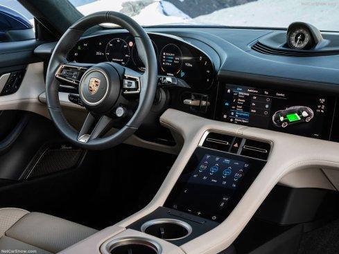 habitacle Porsche Taycan 2020