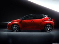 Toyota Yaris 2020 rouge et noir