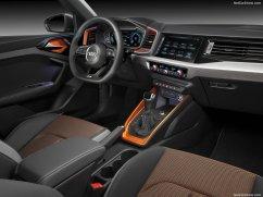 Audi A1 Citycarver 2020 tableau de bord