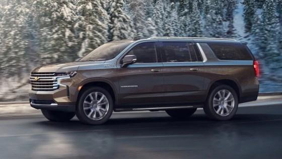 Chevrolet Suburban 2021 testdrive