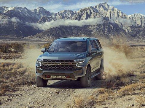 Chevrolet Tahoe 2021 Z71 offroad