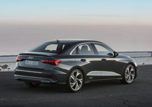 Audi A3 Sedan 2021 feux arrière