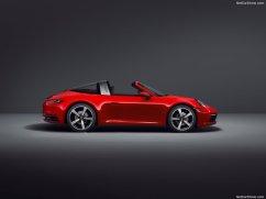 Porsche 911 Targa 2021 profile
