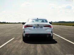 BMW Série 4 coupé 2021 arrière