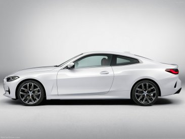 profil BMW Série 4 coupé 2021