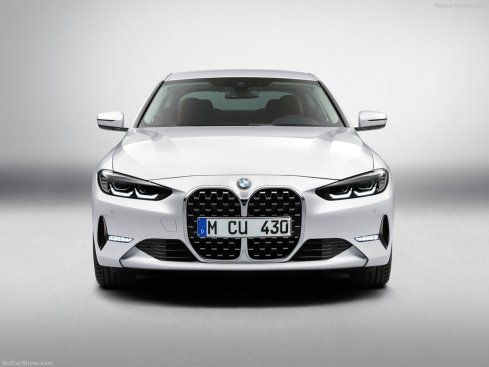 BMW Série 4 coupé 2021 calandre haricot
