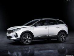 Peugeot 3008 2021 de profile