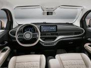 intérieur Fiat 500 électrique 3+1,